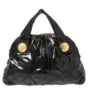 Gucci Hysteria Patent Leather Large Tote