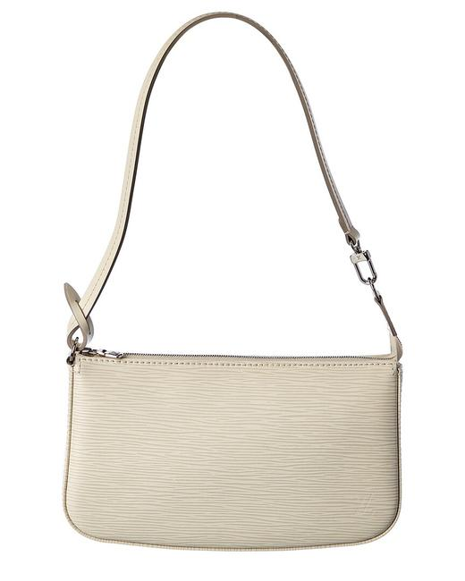 Item - Pochette Accessoires Pre-owned Neutral Epi Leather 2596102 Tote