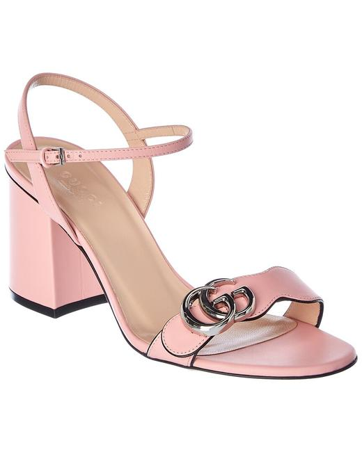Item - Marmont Leather 628012 A3n00 5815 Sandals