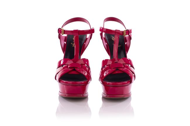 Item - Tribute Patent Leather Sandals -pre Owned Formal