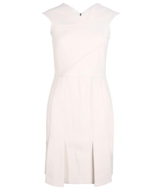 Item - Cream Sleeveless -pre Owned Condition Excellent Formal Dress