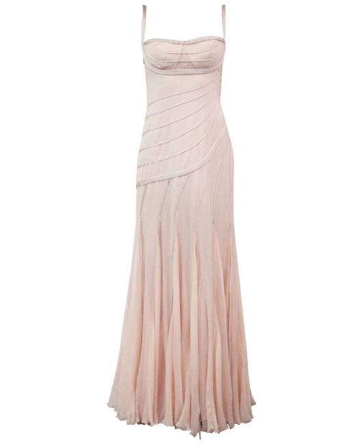 Item - Rose Pink Gown -pre Owned Condition Excellent Fr36 Formal Dress