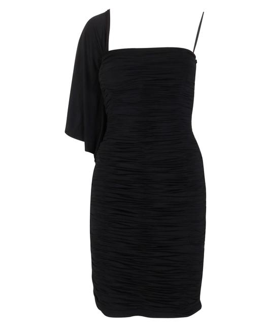 Item - One Shoulder Ruched -pre Owned Condition Excellent Formal Dress