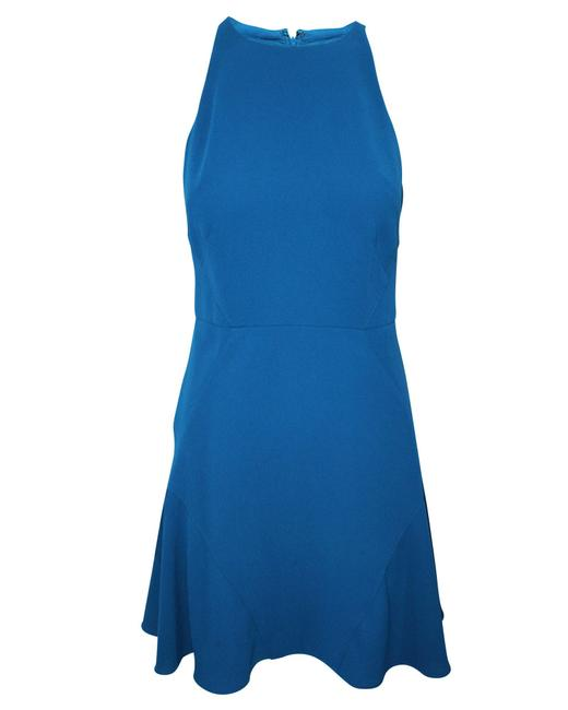 Item - Sea Blue Sleeveless -pre Owned Condition Very Good Formal Dress