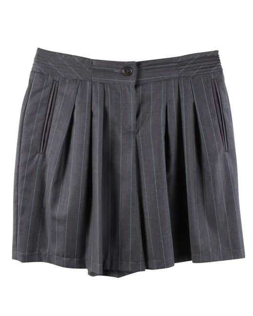 Item - Emporio Grey Striped -pre Owned Condition Excellent M Skirt