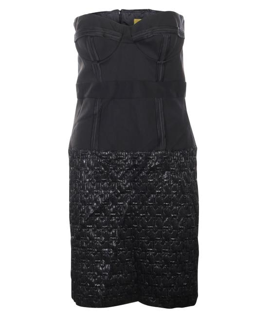 Item - Black Bustier Gown -pre Owned Condition Very Good Formal Dress