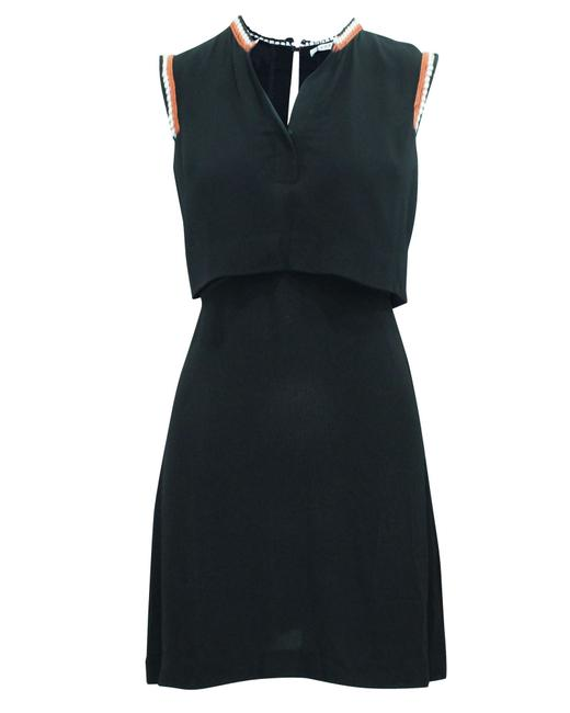 Item - Paris Black with Embroidery -pre Owned Condition Very Formal Dress