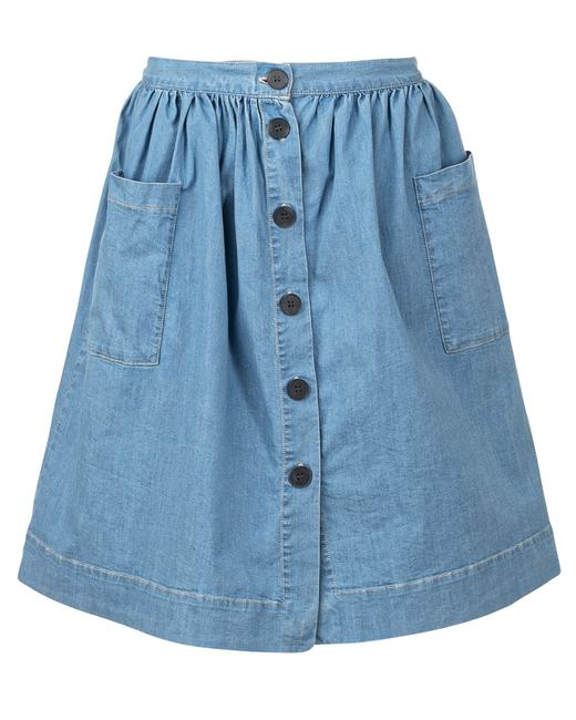 Item - Bubble Denim -pre Owned Condition Very Good S Skirt