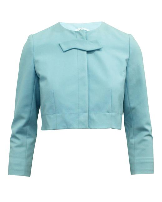 Item - Baby Blue Short Jacket -pre Owned Condition Very Good Eu38 Coat