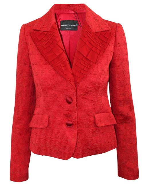 Item - Emporio Red Jacket -pre Owned Condition Very Good It40 Coat