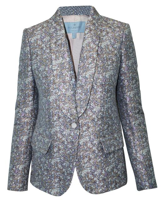 Item - Embroidered Floral Blazer -pre Owned Condition Very Good Coat