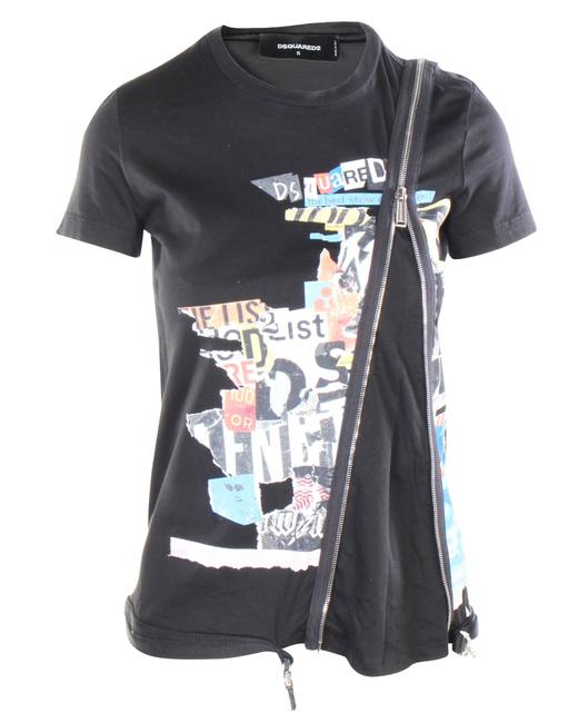 Item - Zipped T-shirt -pre Owned Condition Very Good One Size Blouse
