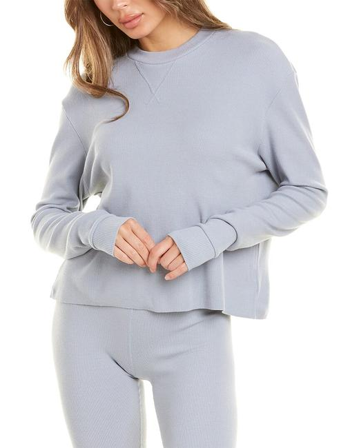 Item - Oversized Thermal Boy Top Sw2151 Blouse