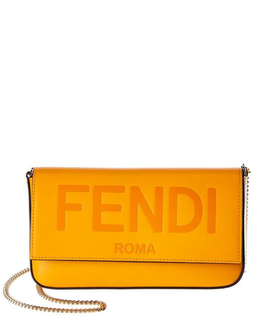Item - on Chain Leather 8bs032 Aayz F1dzh Wallet