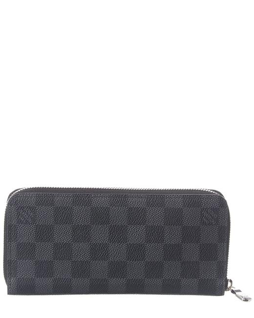 Item - Zippy Pre-owned Graphite Grey Leather 2556984 Wallet