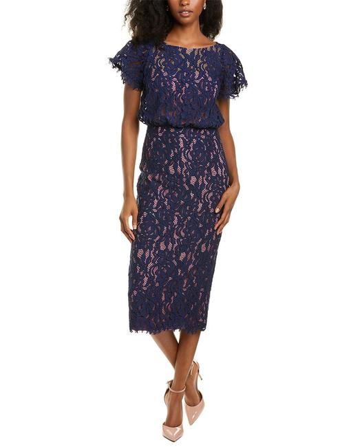 Item - Embroidered Lace Blouson 866800 Cocktail Dress