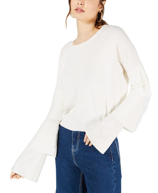 Item - Cropped Tiered-sleeve Sweater/Pullover