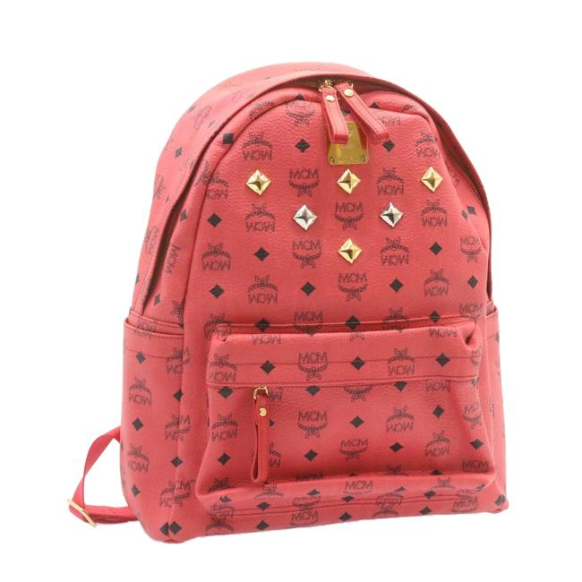 Item - Pvc Leather Pink Backpack
