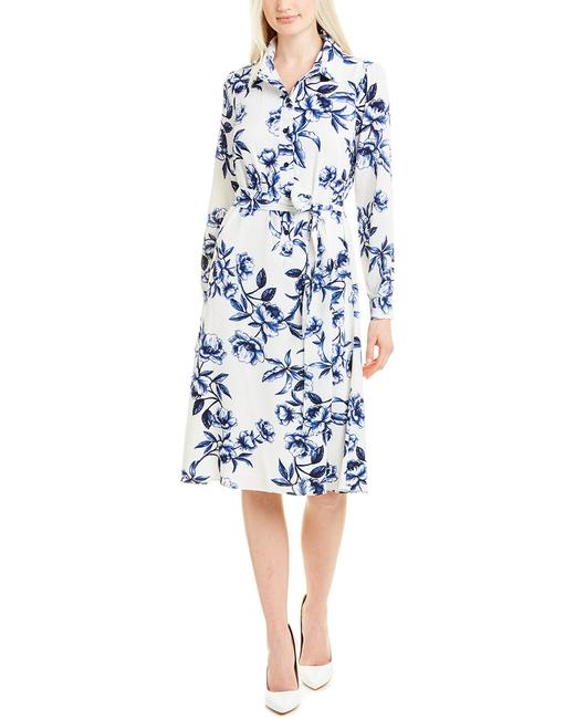 Maggy London Shirtdress G4377m Short Casual Dress Maggy London Shirtdress G4377m Short Casual Dress Image 1