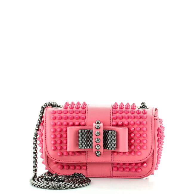 Item - Sweet Charity Spiked Leather Mini Cross Body Bag
