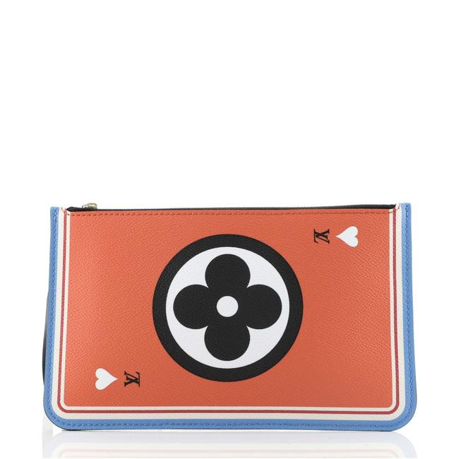 Item - Neverfull Pochette Limited Edition Game On Multicolor Monogram Large Accessory