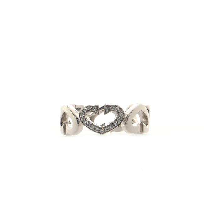 Item - C Heart Of Ring 18k White Gold with Diamonds 18k White Gold with Diamonds Jewelry