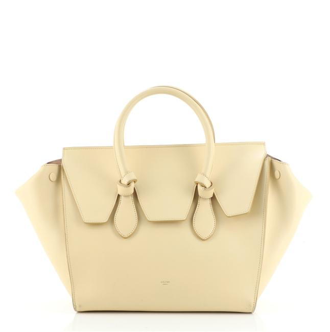 Item - Tie Knot Grainy Leather Small Tote