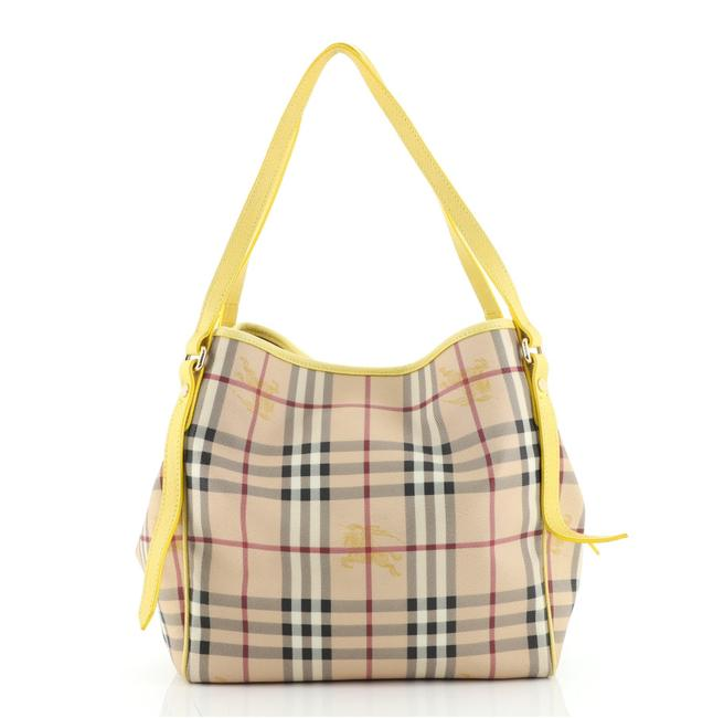 Item - Canterbury Haymarket Coated Canvas Small Tote