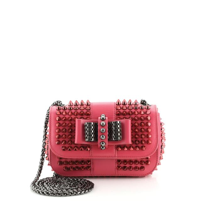 Item - Sweet Charity Spiked Leather Baby Cross Body Bag