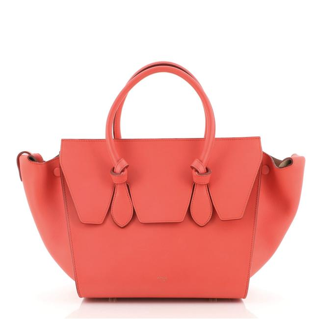 Item - Tie Knot Smooth Leather Mini Tote