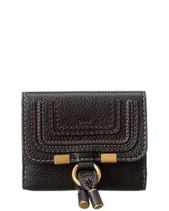 Chloé Marcie Leather Flap Continental Wallet Chc10up572 161 001 Accessory
