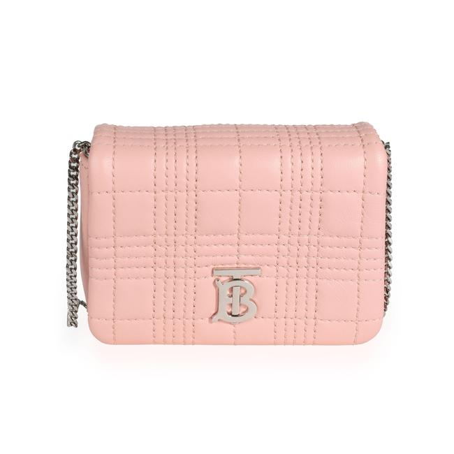 Item - Pink Quilted Lambskin Micro Lola Bag