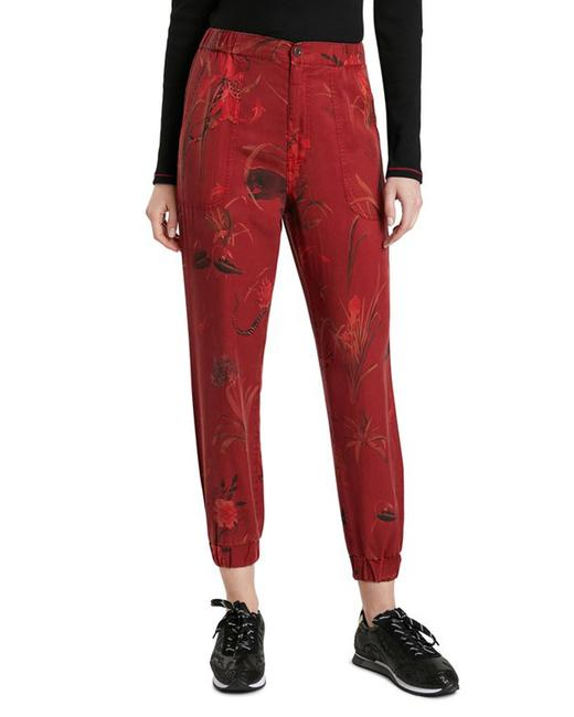 Item - Red Women's Trousers Pants