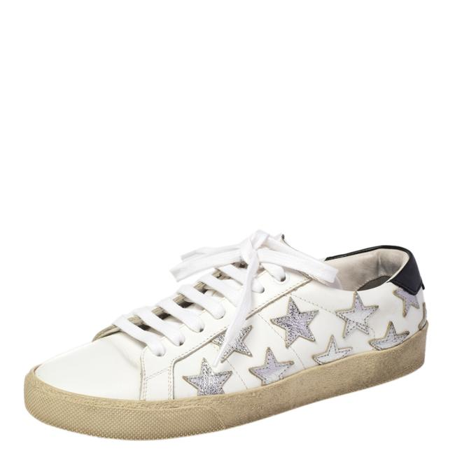 Item - White Leather Star Court Classic California Sneakers Size 37.5 Athletic