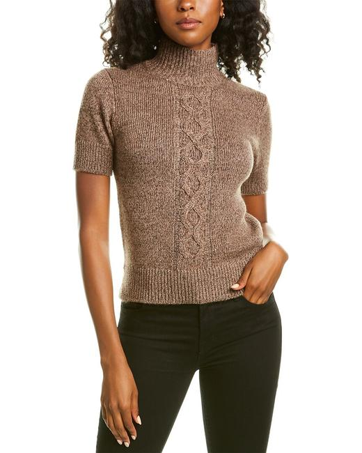 Item - Cropped Silk Cashmere-blend Mwz19r-kc47 Sweater/Pullover