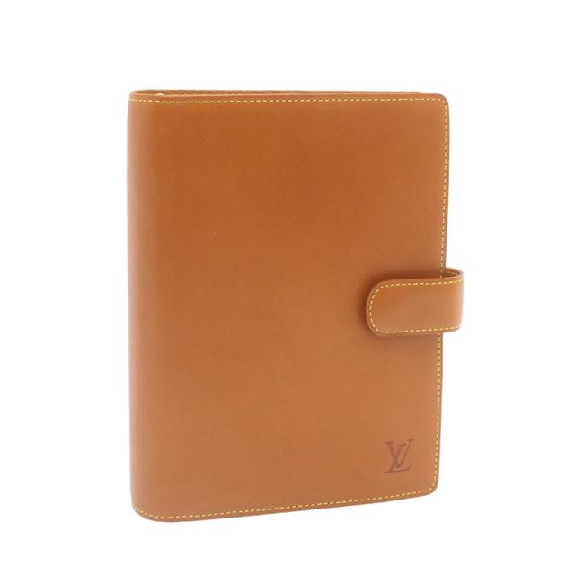 Item - Agenda Mm Nomade Leather Beige Day Planner Cover R20473 Accessory