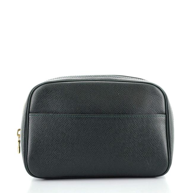 Item - Toiletry Pouch Taiga Leather Pm Accessory