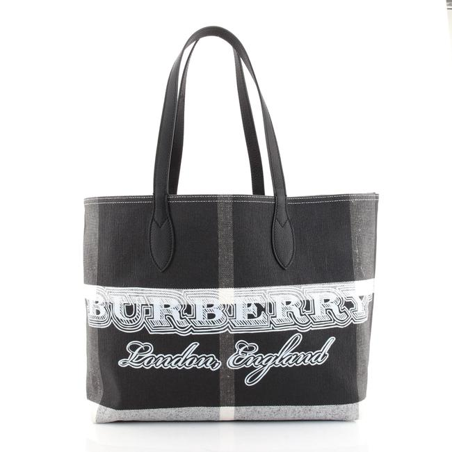 Item - Doodle Reversible Printed Canvas Large Tote