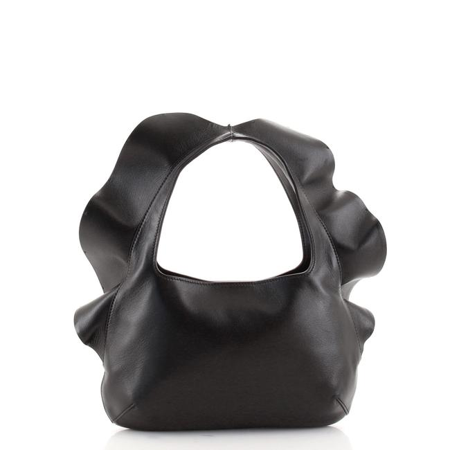 Item - Rouches 04 Edition Leather Small Hobo Bag