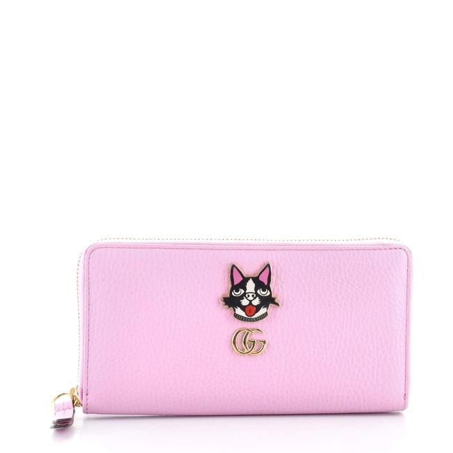 Item - Gg Marmont Zip Around Embellished Leather Wallet