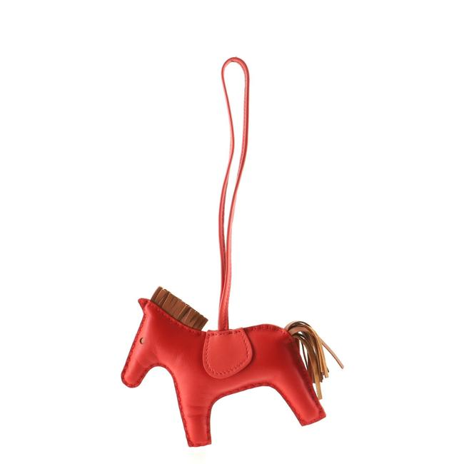 Item - Grigri Rodeo Bag Charm Leather Mm Accessory