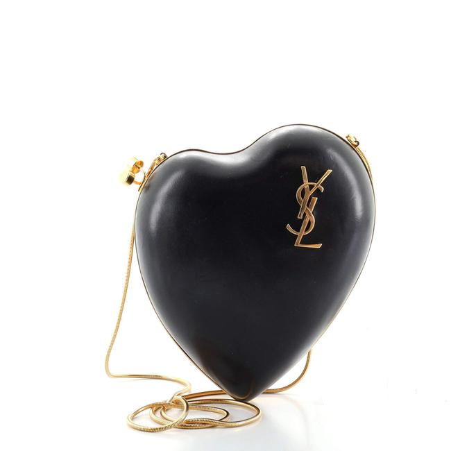 Item - Love Box Chain Leather Small Clutch