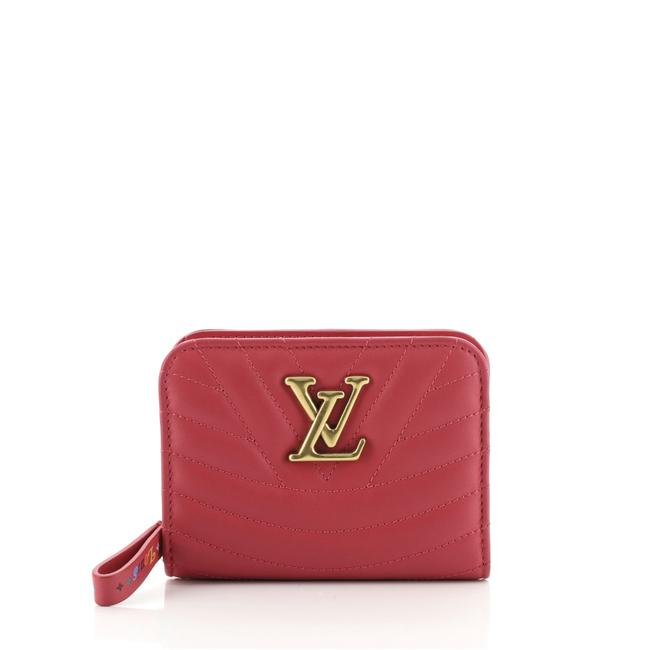 Item - New Wave Zipped Compact Quilted Leather Wallet