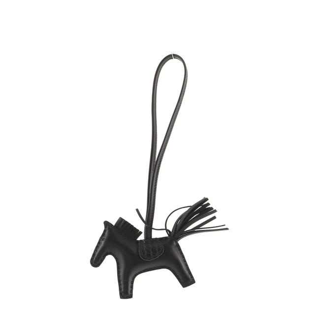 Item - So Black Grigri Rodeo Touch Bag Charm Leather with Alligator Pm Accessory
