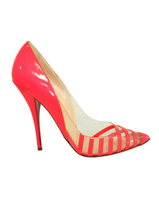 Item - Neon Pink Pivichic Heels -pre Owned Condition Formal