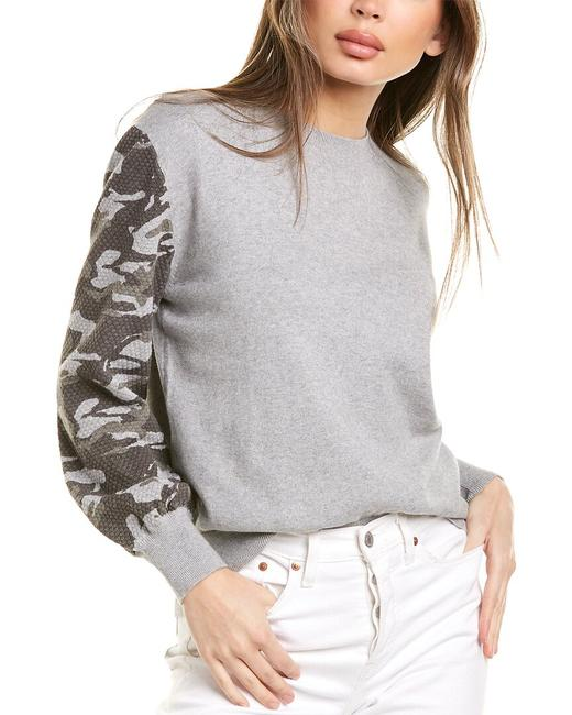Item - Camo Sleeve Cashmere-blend Ht0993 Sweater/Pullover