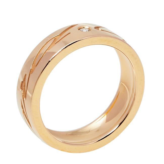 Item - issimo 18k Rose Gold Band Ring Size Eu 57 Jewelry
