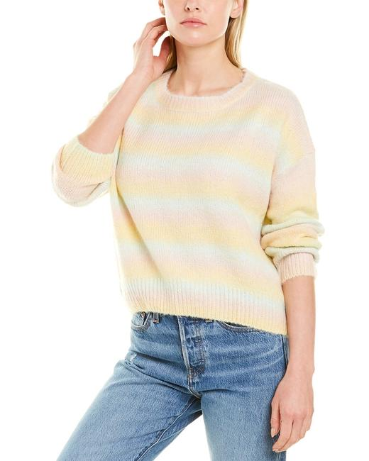 Item - Fuzzy Knit Wool-blend Nt19561 Sweater/Pullover