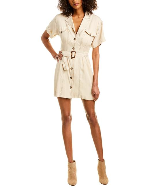 Item - The Label Freehand Shirtdress Acdr100113 Casual Maxi Dress