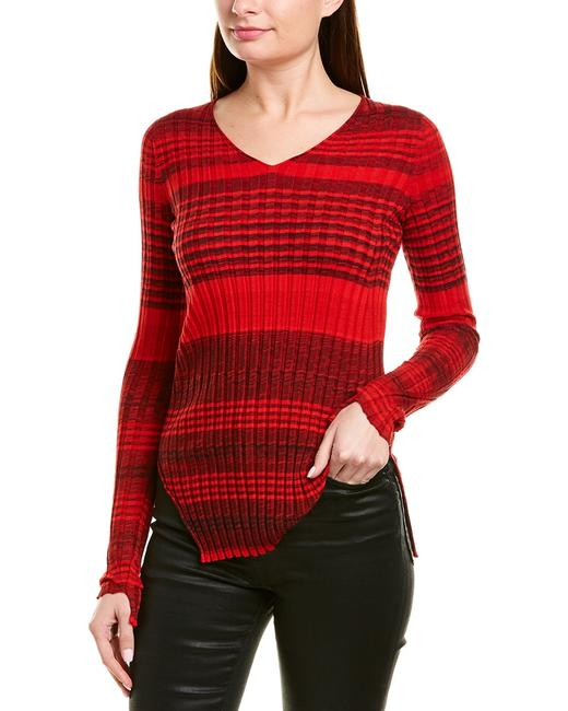 Item - Ribbed Wool-blend I06hw702 Sweater/Pullover